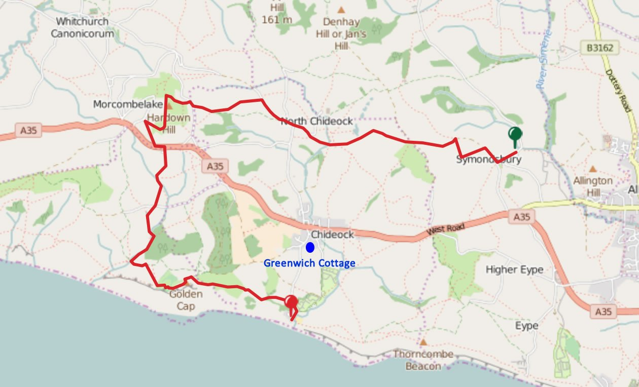 map-julia-bradbury-dorset-walk